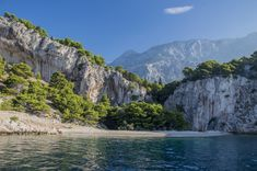 A secluded beach in Croatia by Peter Windsong