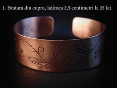 Artizan in cupru Copper Bracelet, Cuff Bracelets, Dog Bowls, Rings For Men, Jewelry, Email, Romania, Google, Teal Tie