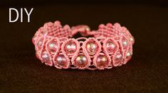 How to make Snaky Macrame Bracelet with Beads. This bracelet looks very interesting and it not hard to make, perfect to wear everyday and for any occasion. S...