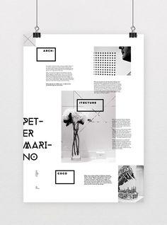 Informative Poster System - Informative Poster System by Marina Zertuche, via Behance - Poster Design, Poster Layout, Graphic Design Posters, Graphic Design Typography, Grid Graphic Design, Poster Poster, Graphisches Design, Book Design, Layout Design