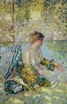 Richard Emil Miller (1875-1943) American Impressionist Painter