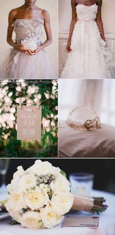 Elegant neutrals wedding color schemes pinterest for Elegant neutral paint colors
