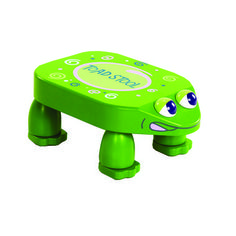 """Stool """"""""croaks"""""""" - IC chip One Small Step"""