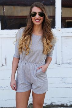 Home Bound Romper - The Rage - 1