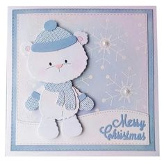 Look what I found on AliExpress Christmas Cards To Make, Kids Christmas, Scrapbook Paper Crafts, Scrapbook Cards, App Store, Google Play, Winter Rock, Style Scrapbook, Bear Card