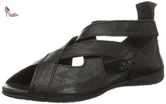 Think Jaeh, Spartiates Femme, Noir (Schwarz 00), 37 EU - Chaussures think (*Partner-Link)