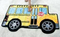 School Bus area rug
