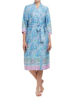 Sussan - Sleepwear - Gowns - Paisley border gown