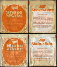 General Foods - Good Seasons - Shake 'n Bake Hamburger - mix packets - 1970's by JasonLiebig, via Flickr