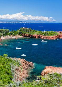 Pointe du Cap Roux, Massif de l'Esterel Beautiful Sites, Beautiful Beaches, French Trip, Road Trip, Rhone, Best Sites, French Riviera, South Of France, Photos