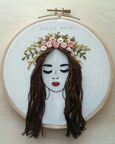 Embroidery and sewing embroidery and sewing- Sticken und Nähen Sticken und Nähen Embroidery and sewing embroidery and sewing - Hand Embroidery Videos, Embroidery Works, Simple Embroidery, Learn Embroidery, Hand Embroidery Stitches, Crewel Embroidery, Modern Embroidery, Embroidery Hoop Art, Hand Embroidery Designs