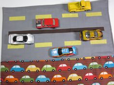 Matchbox Car Wallet and Road To Go by SafferyMoore on Etsy