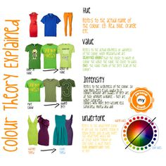"""""""Colour Theory Explained (1)"""" by transform-image-consulting on Polyvore"""