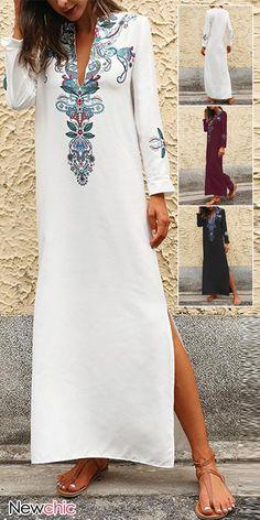 Where to buy plus size dresses? Shop summer plus size blouses, plus size pants and dresses on Newchic. Boho Outfits, Pretty Outfits, Beautiful Outfits, Casual Outfits, Plus Size Blouses, Plus Size Dresses, Bikini Dress, Ascot, Summer Fall