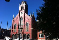 The former church at the corner of 12th and Elm streets in Over-the-Rhine is home to the neighborhood's newest event space, The Transept; a grand opening celebration is scheduled for Oct. 8, when the South Tap Room officially debuts.