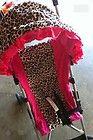 Umbrella Stroller Cover~leopard/pink - http://baby.goshoppins.com/strollers/umbrella-stroller-coverleopardpink/
