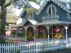Hello Everyone, While researching Martha's Vineyard for my work, I discovered the village of Oak Bluffs. I don't know about you, but I'd n...