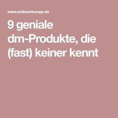 9 geniale dm-Produkte, die (fast) keiner kennt