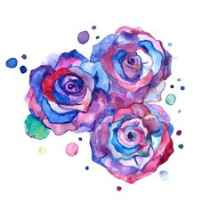 Images For > Tumblr Purple Roses