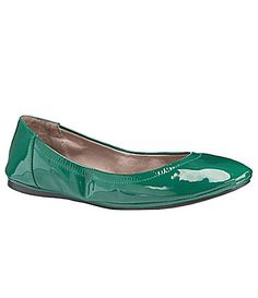 Vince Camuto Ellen Ballet Flats | green  Dillards.com...couldn't resist buying these BCUZ they are GREEN!! Lol.