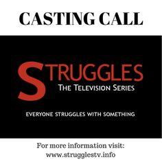 Casting Call - Student Mini Series Struggles: The Series