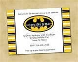 batman party invites