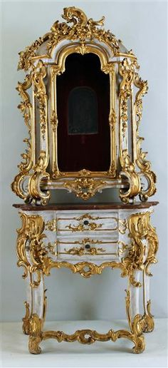 Sacristy cabinet Bohemia 2, Half of the 18th century