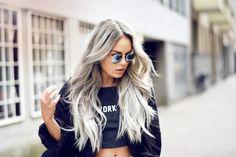 what inspires me / grey hair + | sannaelise