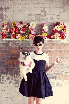 Keiko Lynn wearing sunglasses from our collaboration : Keiko X BonLook