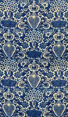 Prints + Patterns. #Print #Pattern #Floral #blue #white