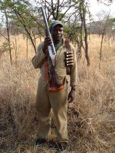 Hunting with a 4 bore double rifle. Weapons Guns, Guns And Ammo, Lead Bullets, Glock Guns, Survival Weapons, Big Guns, Cool Guns, Elephant Gun, Revolver