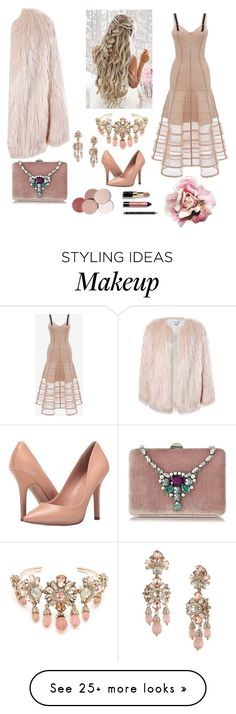 """""""See the Pale Beauty"""" by army2blink on Polyvore featuring Alexander McQueen, Marchesa, Charles by Charles David, Sans Souci, Rodo, LunatiCK Cosmetic Labs and Bobbi Brown Cosmetics"""