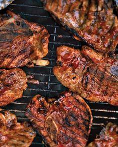 Barbecued Pork-Shoulder Chops Recipe