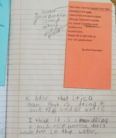 Inference lesson using Shel Silverstein poems