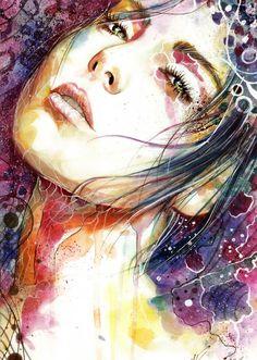 Starry Night by weroni.deviantart.com on @DeviantArt