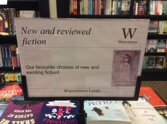 Super display at Waterstones Leeds spotted by Susie Sue.