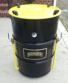 How to build your own Ugly Drum Smoker from Start to finish. Step by step Instructions - Page 2 of 2 - Practical Survivalist Uds Smoker, Barrel Smoker, Bbq Pit Smoker, Barbecue Grill, 55 Gallon Drum Smoker, Ugly Drum Smoker, Build A Smoker, Bbq Smoker Trailer, Smoke Grill