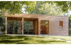 Talo Outdoor Sauna, by #Klafs