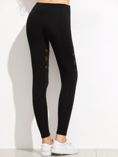 290780319c1 Thigh(cm)  Hip Size(cm)  Waist(cm)  Size Available  one-size Length(cm)   Fabric  Fabric is very stretchy Style  Casual Pattern Type  Plain Color   Black ...