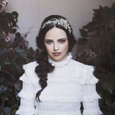 Viktoria Novak 2017 Bridal Headpieces