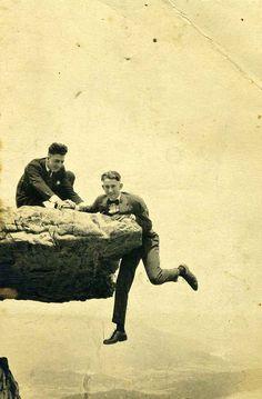 Bill & Wisdow O'Neal, Lookout Mountain, TN, 1917