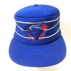 e224efc4b871 Toronto Blue Jays MLB Retro Throw Back Pillbox Hat Snapback Flat Bill Maple  Leaf  Unknown