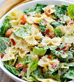 BLT Pasta Salad | HealthShoot