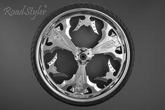 RoadStyler CNC machined custom aluminum wheel Custom Wheels, Cnc Machine, Aluminum Wheels, Motorcycle Accessories, Honda, Car, Automobile, Vehicles, Cars