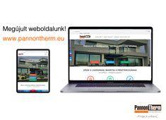 Megújult weboldalunk!  www.pannontherm.eu Website, Phone, Self, Telephone, Mobile Phones