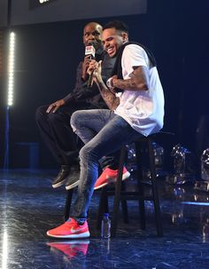 Chris Brown Photos - Chris Brown For iHeartRadio Live With Special Guest T.I. - Zimbio