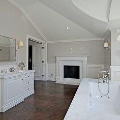 Fireplace in Bathroom