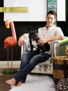 David Bromstad, host of <em>Color Splash</em>, lives in a cool place full of — you guessed it — bold colors! <em>HGTV Magazine</em> invites you to take a tour of his one-of-a-kind Miami condo.