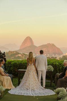 Casamento rústico-chique: cenário de beleza natural