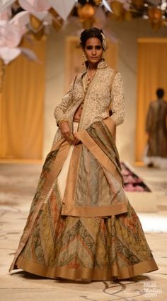 Rohit Bal was the only designer who did not have a celebrity show-stopper at India Bridal Week. See who he chose instead, to close his show...